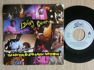 "Living Colour - Talkin' Loud And Sayin' Nothing - 45 Giri 7"" Holland"