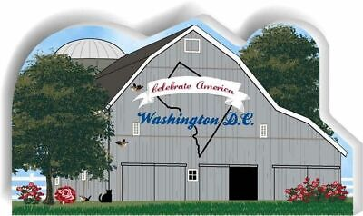 Cat's Meow Village State Barn, Washington DC #R1156 NEW *SHIPPING DISCOUNTS*