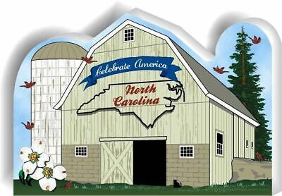 Cat's Meow Village State Barn, North Carolina #R1179  NEW *SHIPPING DISCOUNTS*