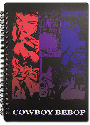 Cowboy Bebop Group Spiral Notebook Note Book Anime NEW