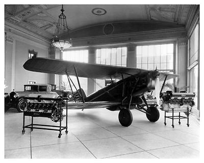 1928 Packard Motor Showroom Photo Poster Detroit Airplane zc5346-ILAOB3