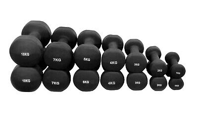 Dumbbell set weights dumbells Free hand weights exercise workout pairs Neoprene