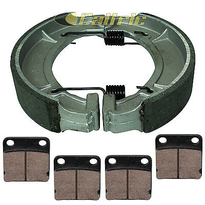 FRONT BRAKE PADS /& PISTON KIT Fits YAMAHA KODIAK 400 YFM400 2WD 2000-2004