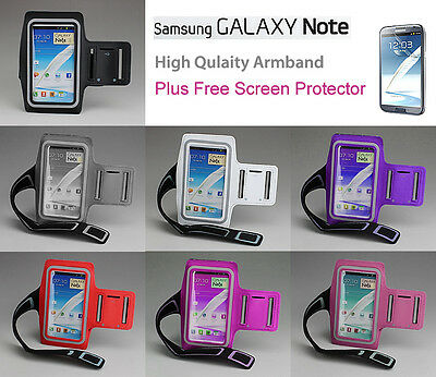 Jogging Gym Sports Running Armband Case For Samsung Galaxy Note Gt N7000 I9220