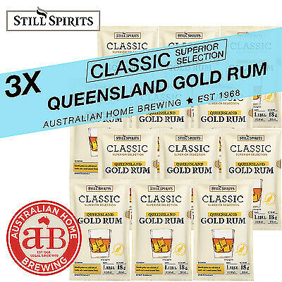 Still Spirits Classic Queensland Gold Rum 3pack homebrew spirit essence distill
