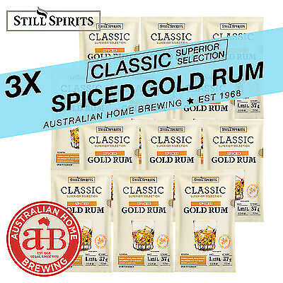Still Spirits Classic Spiced Gold Rum 3pack homebrew spirit essence distilling