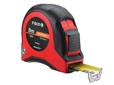 FISCO PRO 8m CLASS 1 Precision Professional Metric/Imperial Tape Measure PR8ME