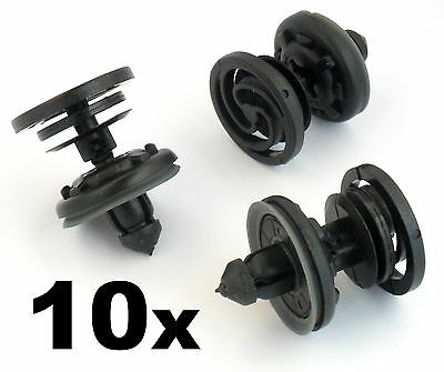 10x VW Volkswagen T5 Transporter Interior Door Card / Trim Panel Fastener Clips