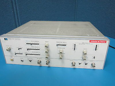 HP Agilent 8082A 250MHz Pulse Generator *POWERS ON*