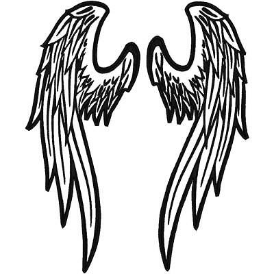 Custom Embroidered Reflective Angel Wings  Patches 2