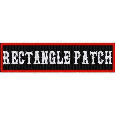 Custom  Embroidered Motorcycle   Patch 11.5 X 3