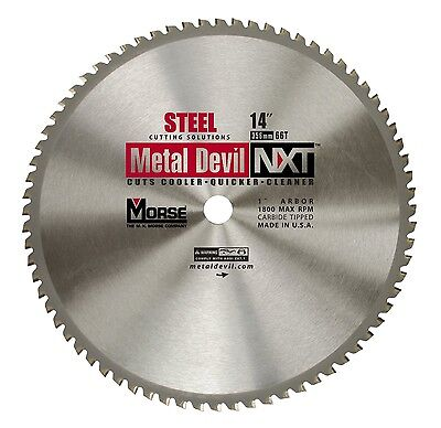 MK Morse CSM1466NSC Metal Devil 14 in. 66T Metal Cutting NXT Blade