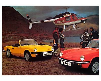1978 1979 Triumph Spitfire 1500 Automobile Photo Poster zc7019-AK31XL