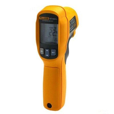 Fluke 62 MAX+ PLUS Dual Laser Infrared Thermometer Thermal Temperature Reader