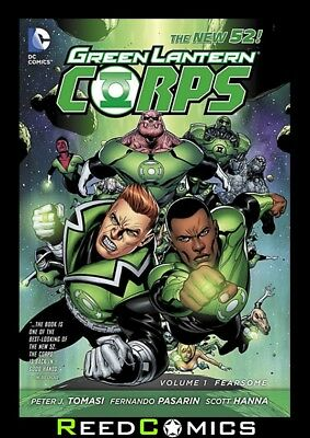 GREEN LANTERN CORPS VOLUME 1 FEARSOME GRAPHIC NOVEL New Paperback Collects #1-7
