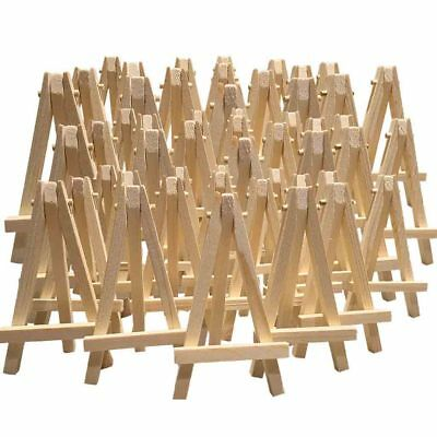 24 X Mini Wooden Easel Mini Timber Easel Miniature Wooden Easel 12cm Wedding