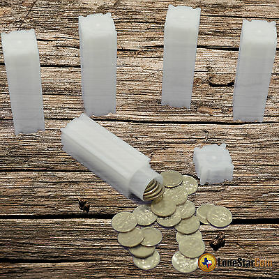 20 CoinSafe DIME Square Coin Tube - Coin Supplies