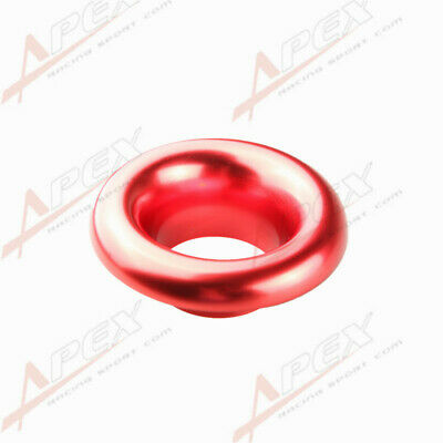 """4"""" Universal Velocity Stack For Cold/ram Engine Air Intake/turbo Horn Red"""