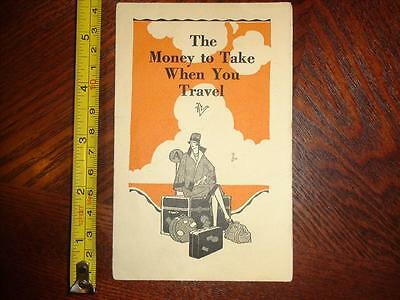 BB865 Vintage Art Deco Style American Bankers Trust Co. Peck Judah Co Ad