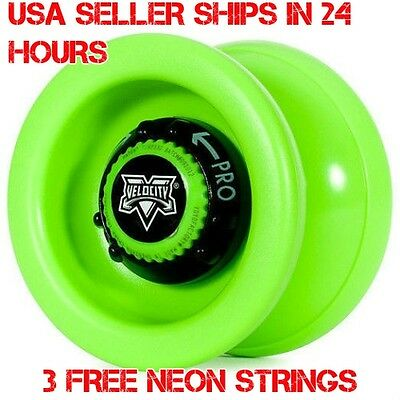 3 Neon Strings YEL//ORG//GRN YoYo Arrow Galaxy Yo Yo From The YoYoFactory