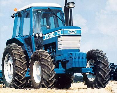 1975 ? Ford 7710 86HP Tractor Photo Poster zc7744-RQLCV2
