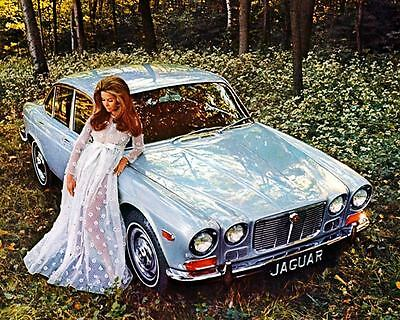 1972 1973 Jaguar XJ6 Automobile Photo Poster zc8224-KV5AV6