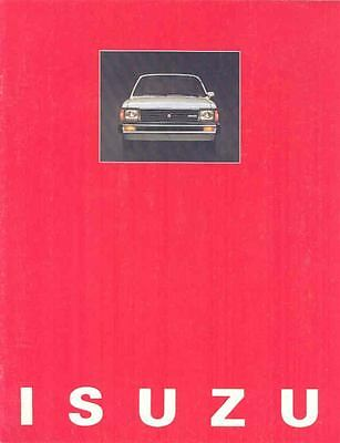 1981 Isuzu I-Mark Brochure mx1908-5EO6L8