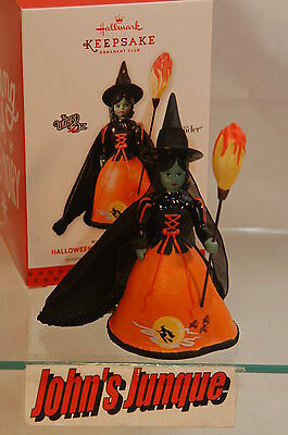 Halloween Wicked Witch Of The West~2013 Hallmark Ornament~Free Ship In Us~
