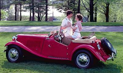1952 1985 MG TD MGTD BCW52 Replica Factory Photo c130-GZM3ZW