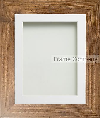 Frame Company Watson Range Rustic Wood Effect Picture Photo Frames & Mount