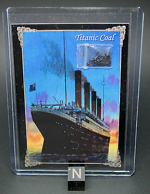 RMS Titanic Coal, 100th anniversary. Includes certificate of authenticity.