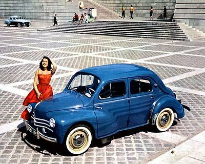 1958 Renault 4CV 750 Factory Photo c2061-ZHH9GZ