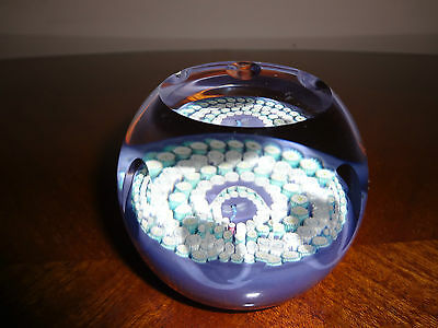 Caithness Paperweight With A Dragonfly