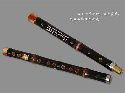 1PCS Professional Bamboo Flute Dizi 5Keys Chinese Knot+Dimo+Cleaning Cloth DZ009