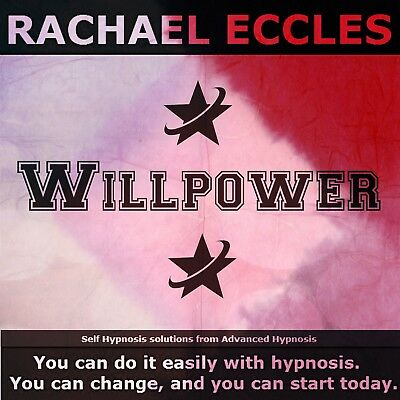 Self Hypnosis:Improve your Willpower Hypnotherapy CD, Rachael Eccles