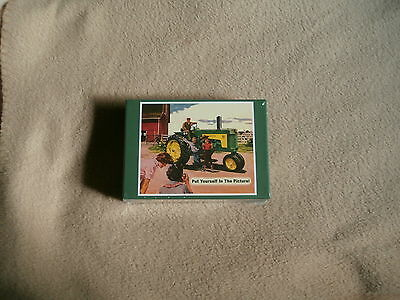 JD Puzzle-John Deere Model 730 Diesel Tractor-PUT YOURSELF IN THE PICTURE-NIB