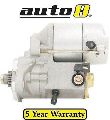Starter Motor to fit Toyota Landcruiser Bundera 1985 to 1991 2.4L Petrol (22R)