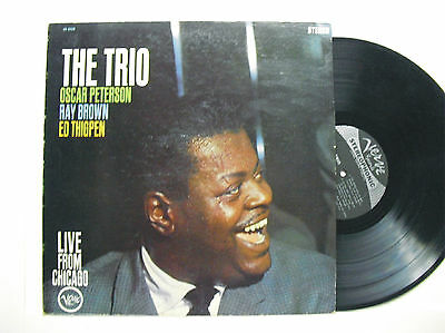 Oscar Peterson Ray Brown Ed Thigpen: the Trio Verve 8420 stereo