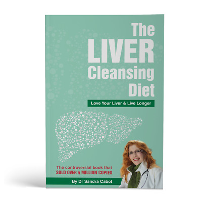 The Liver Cleansing Diet book by Dr Sandra Cabot updated & expanded edition