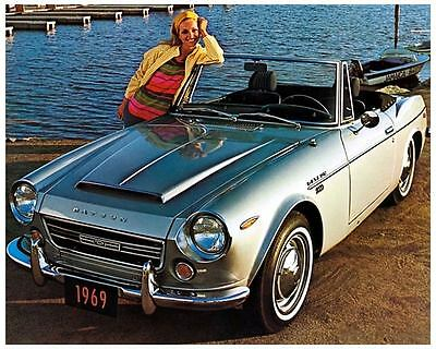 1969 Datsun 2000 Roadster Automobile Photo Poster zc4545-Z4PLC5