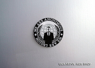 The Anonymous sew on Patch