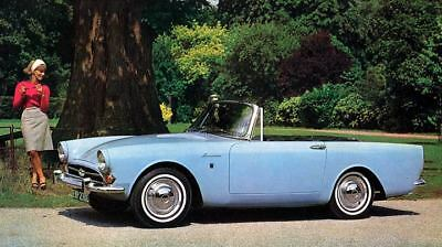 1966 1967 Sunbeam Alpine 1725 Factory Photo c3143-3JCABR