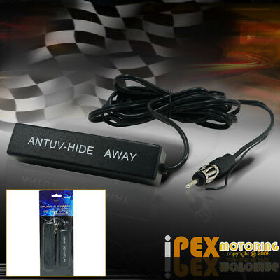 New Universal Car Hidden Amplified Antenna Kit 12v Electronic Stereo AM/FM Radio