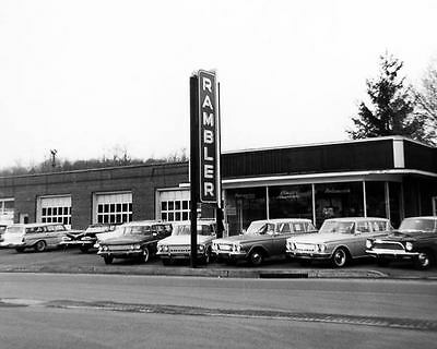 1961 1962 ? AMC Rambler Dealer Showroom Photo Pa c3655-NLX3XW