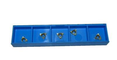 Rdgtools 5Pc 55 Degree Carbide Screw Cutting Tip 08Er-Ag55 To Fit Our 8Mm Tools