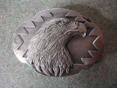 1990 Collectible Arroyo Grande Buckle Co. Bald Eagle Belt Buckle Made In USA