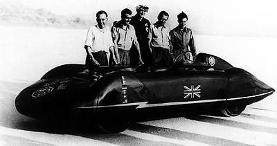 1951 MG EX135 Streamliner Record Car Photo Bonneville c4339-EYIOPI