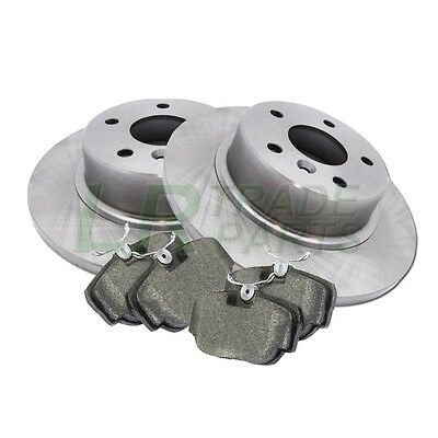 Land Rover Discovery 2 Td5 New Rear Brake Discs And Brake Pads, Disc Pad Kit Set