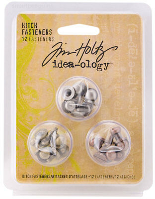 Tim Holtz Idea-ology Hitch Fasteners Ideaology TH92731