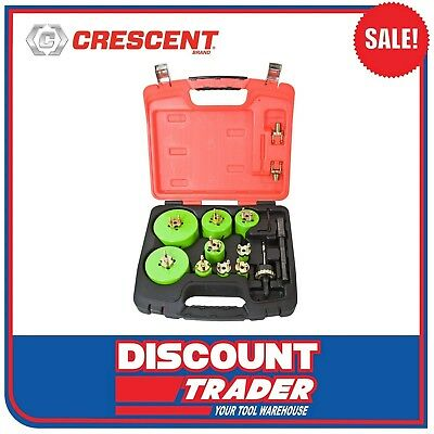 Crescent Re-Load HD Quick Change 23 Piece Electricians Holesaw Set - CRLE9HD